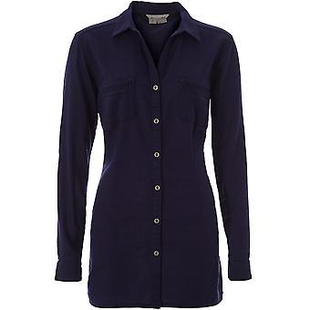 Royal Robbins Women's Cool Mesh Long Sleeve Eco Tunic - Ink Blue