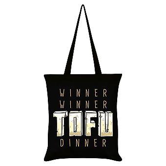 Grindstore vinder vinder tofu middag tote taske