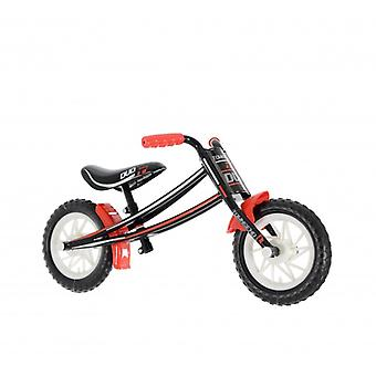 Townsend Duo Boys 10 Inch Balance Bike Black/Red- MV Sports