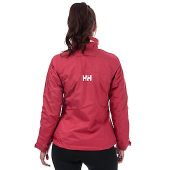 Womens Helly Hansen giacca Midlayer Crew in Cardinal