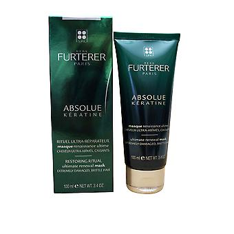 Rene Furterer Absolue Keratine Ultimate Renewal Maske beschädigte Brittle Haar 3.4 OZ