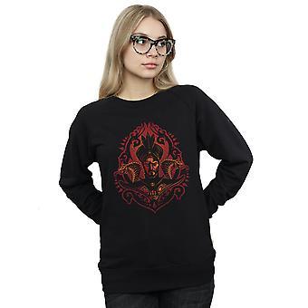 Disney Women's Aladdin Movie Jafar Snakes Sweatshirt
