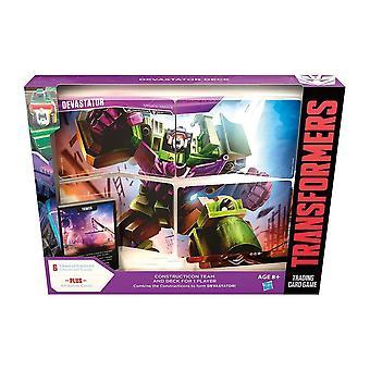 Transformers Trading Card jeu 2 Dévasator Deck jeu de cartes