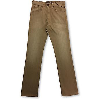 Agave Waterman Santiago Khaki Denim Jeans Brown