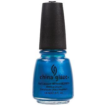 China glazuur Nail Polish collectie-blauwe leguaan 14ml (80704)
