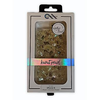 Case-Mate Karat Pearl Case for iPhone SE 2020, 8/7/6s/6 - Mother of Pearl
