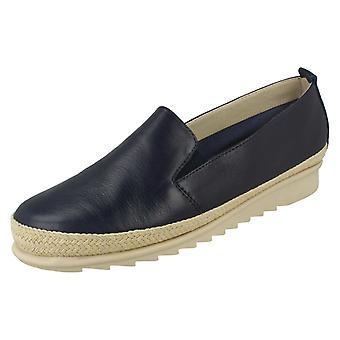 Ladies Padders Espadrille Detailed Shoes Haze