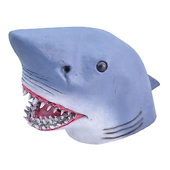 Bristol Novelty Unisex Adults Rubber Shark Mask