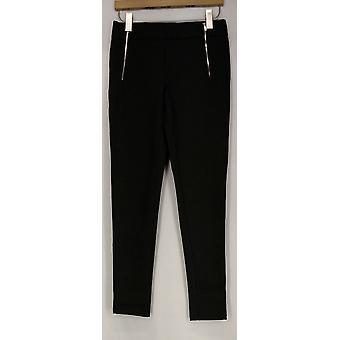 Kate & Mallory Leggings High Density Knit Leggings Charcoal Gray A426783
