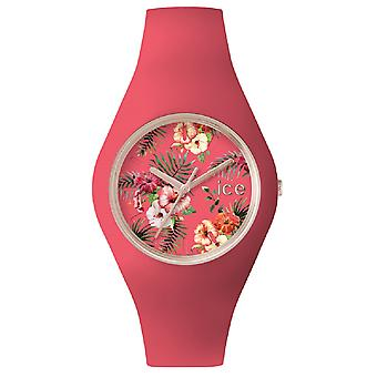 Ice flower delicious Japanese Quartz Analog Women watch with ICE Silicone Bracelet. Fl. DEL. U.S.15