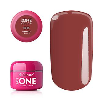 Base one-Color-Bronze glam 5g UV gel