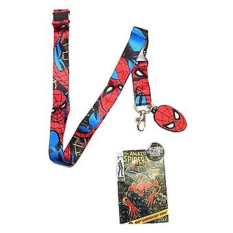 Lanyard - Marvel - Spiderman Anime Licensed la1sqjmvl