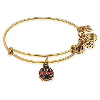 Alex and Ani Ladybug Charm Bangle Bracelet
