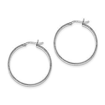 925 Sterling Argent Poli Hinged post Rhodium Plated Hinged Boucles d'oreilles Bijoux Bijoux pour les femmes