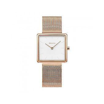 OBAKU - Wristwatch - UNISEX - V236LXVIMV - KVADRAT-ROSE