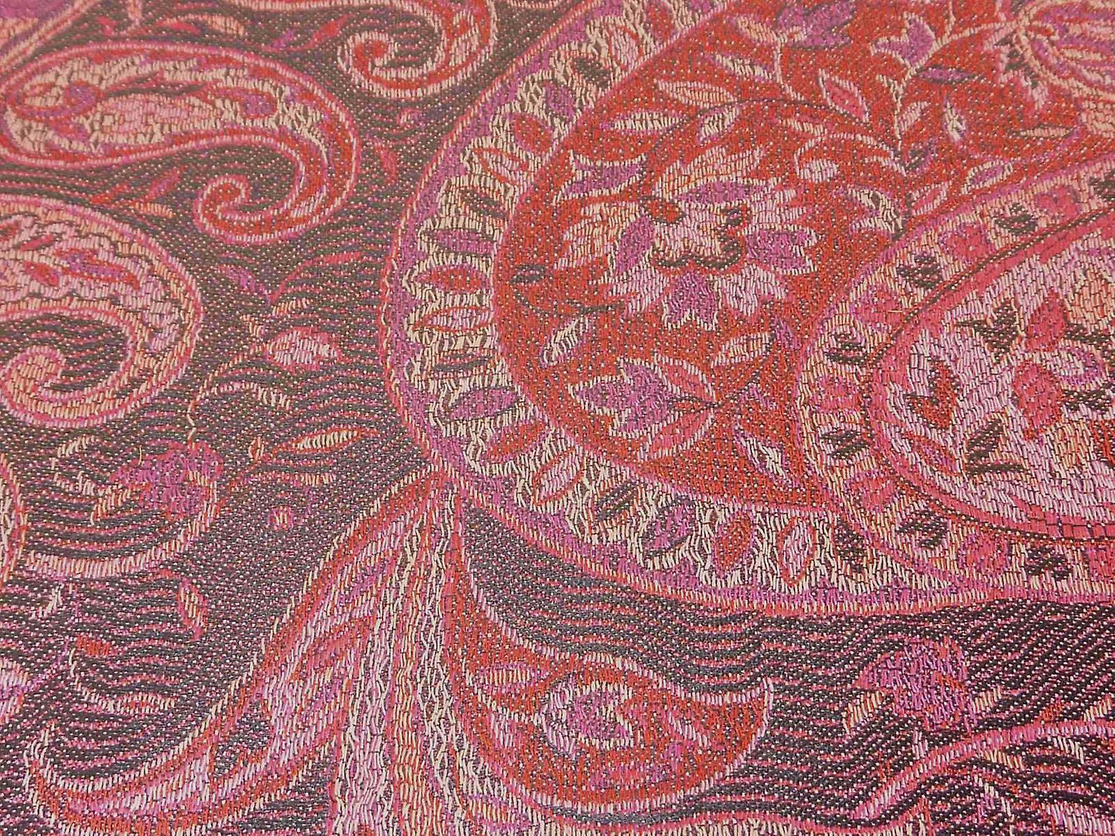 Mens Jamawar Premium Silk Scarf Pattern 8669 by Pashmina & Silk