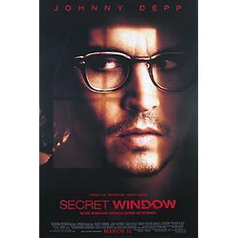 Secret Window (Single Sided Regular) Original Cinema Poster (Single Sided Regular) Original Cinema Poster (Single Sided Regular) Original Cinema Poster (Single Sided Regular)