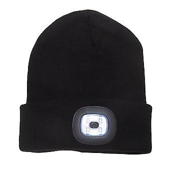 Rock Jock Unisex Adultes Rechargeable LED Light Beanie Hat