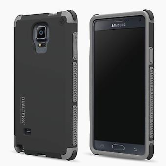Caso de choque extremo PureGear DualTek para Galaxy Note 4 - Preto Fosco