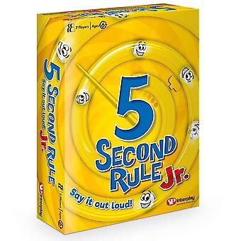 Jeu de cartes Interplay 5 Second Rule Junior