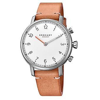 Kronaby S0712-1 Women's Nord Smartwatch Beige Leather