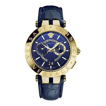 Versace VEBV00219 V-Race Herren Uhr Dualtimer