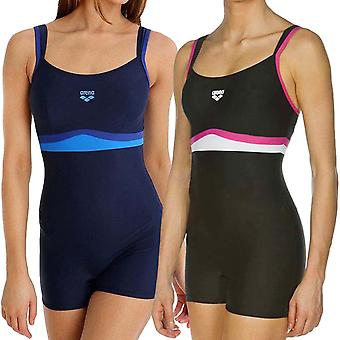 arena Womens Celebrity Cross Back One Piece Training Swimming Swimsuit Costume
