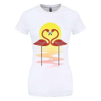 Grindstore kvinner/damer symmetrisk kjærlighet T-skjorte