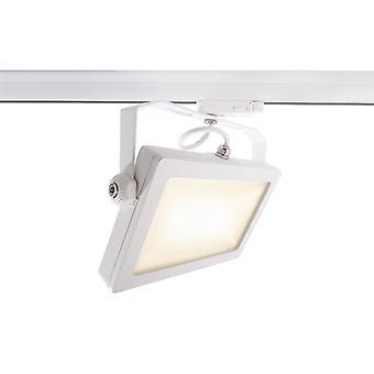 LED 3-fazowy reflektor szyny Flood SMD I 30W 3000K 110 ° biały
