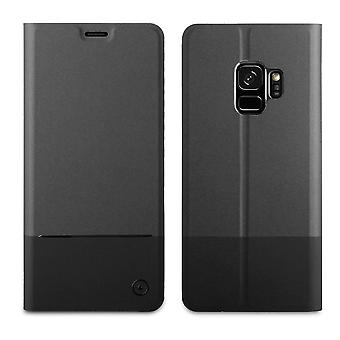 Case For Samsung Galaxy S9 Folio Stand Black