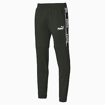 Puma Amplifié Fleece Mens Sweat Track Pantalon Pantalon Khaki Vert