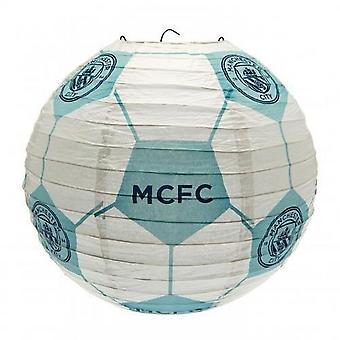 Manchester City FC Concertina Paper Light Shade