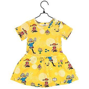 Robe jaune Kalas Pippi short sleeve