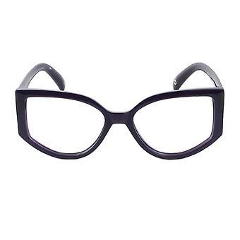 Kirja klubin purema teki syvän violetti näytön & luku lasit