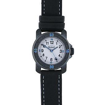 Acción de reloj niño niños aprender reloj negro 280376037 azul del explorador