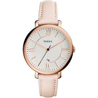 Watch Fossil Jacqueline ES3988 - leather Beige woman