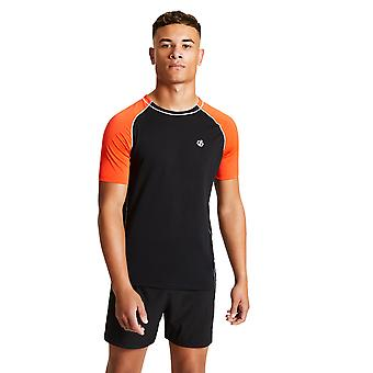 Dare 2b mens Peerless lichtgewicht wicking Running T shirt