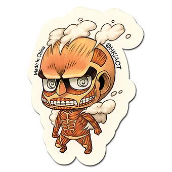 Sticker - Attack on Titan - New SD Colossal Titan Anime Toys Licensed ge55301