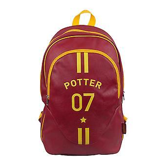 Harry Potter rugzak tas Quidditch Potter 07 Seeker logo nieuwe officiële rood