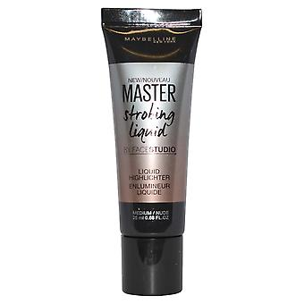 Maybelline Master Strobing Liquid Liquid Highlighter di Facestudio 25ml Medium / Nude