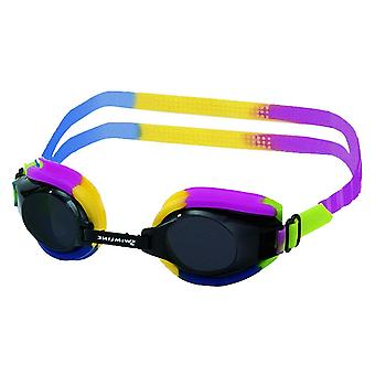 Swimline 9340 Spectra Silicone Goggle - Rainbow with Anti-Fog Lens