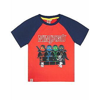 Lego Ninjago Boys T-shirt Personaggi Ninja Warriors Lloyd Nya Kai e Jay Kids