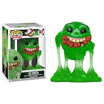 Ghostbusters Slimer with Hot Dogs Translucent US Pop! Vinyl