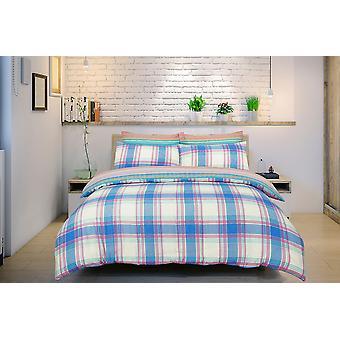 Ombre Check Brights Bedding Set