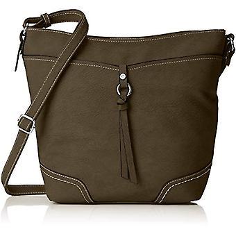 Tom Tailor 24042 Women Green shoulder bag (khaki 35)) 12x28x34 cm (B x H x T)