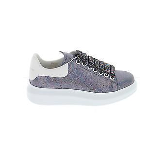 Alexander Mcqueen 558944w4lw18483 Damen's Graue Leder Sneakers