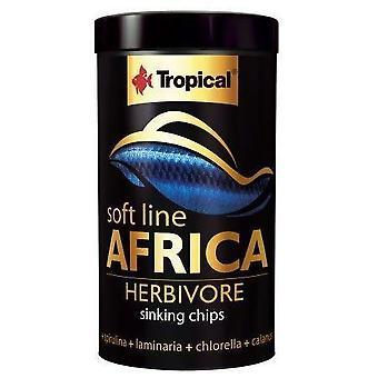 Tropical 67573 Soft Line Africa Herbivoros 100 ml (Fish , Food , Warm Water)