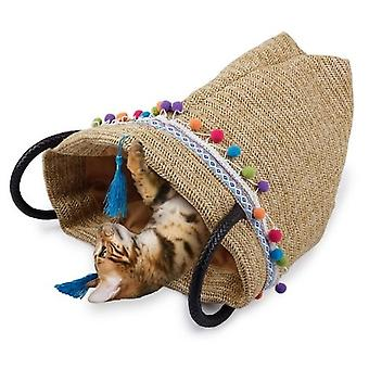 AFP Bolso Crujiente Whisker Fiesta para Gatos (Cats , Transport & Travel , Bags)
