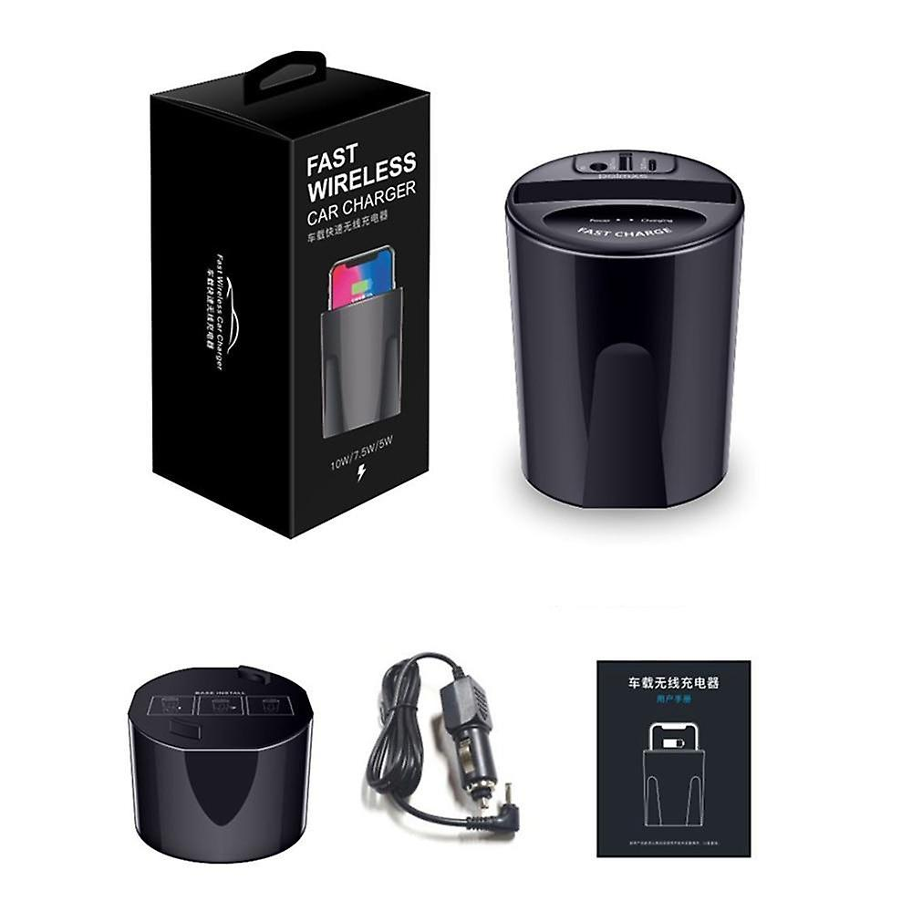 Wireless car charger support fast qi charging