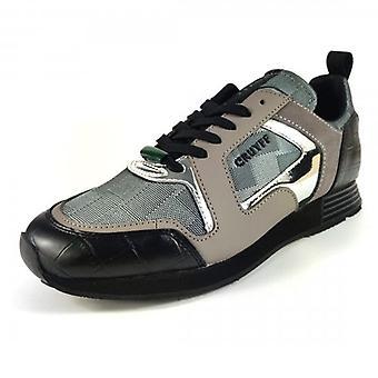 Cruyff Classics Cruyff Lusso Dark Grey Running Style Trainers CC6830201481
